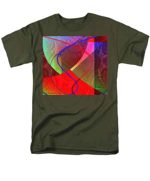 504 - Patterns  2017 Men's T-Shirt  (Regular Fit) by Irmgard Schoendorf Welch