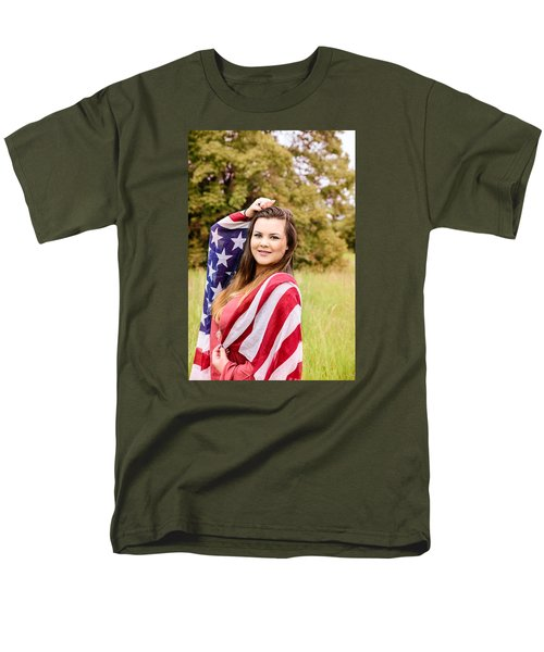 Men's T-Shirt  (Regular Fit) featuring the photograph 5631-2 by Teresa Blanton