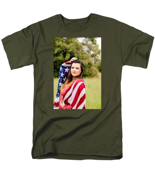 Men's T-Shirt  (Regular Fit) featuring the photograph 5633-2 by Teresa Blanton