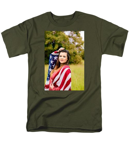 Men's T-Shirt  (Regular Fit) featuring the photograph 5633 by Teresa Blanton