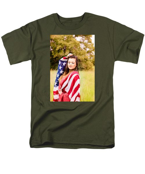 Men's T-Shirt  (Regular Fit) featuring the photograph 5635-2 by Teresa Blanton