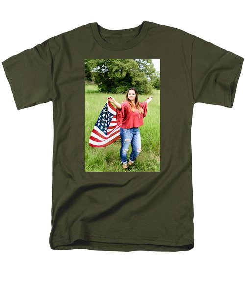 Men's T-Shirt  (Regular Fit) featuring the photograph 5649-2 by Teresa Blanton