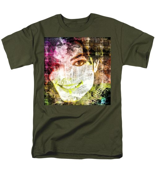 Michael Jackson Men's T-Shirt  (Regular Fit) by Svelby Art