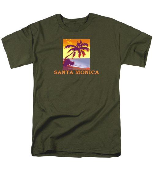 Santa Monica Men's T-Shirt  (Regular Fit)