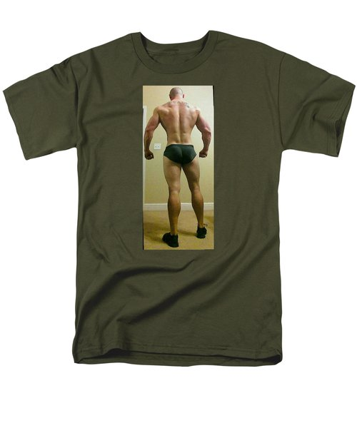 Rear View Men's T-Shirt  (Regular Fit) by Jake Hartz