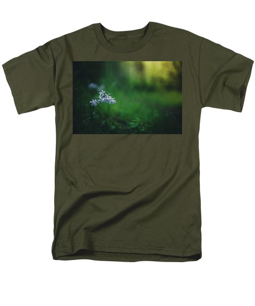 Men's T-Shirt  (Regular Fit) featuring the photograph A Bit Of Forest Magic by Shane Holsclaw