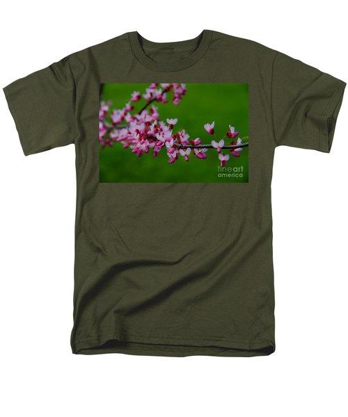 A Branch Of Spring Men's T-Shirt  (Regular Fit) by Roger Becker
