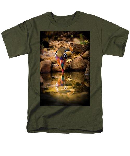 A Cold Drink - Mandarin Drake Men's T-Shirt  (Regular Fit)