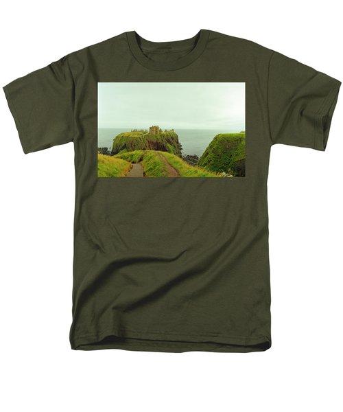 A Defensible Position Men's T-Shirt  (Regular Fit) by Jan W Faul