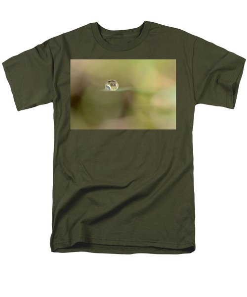 A Drop Of Subtlety Men's T-Shirt  (Regular Fit) by Janet Dagenais Rockburn