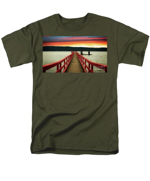 A Gentle Evening Men's T-Shirt  (Regular Fit) by Rod Jellison