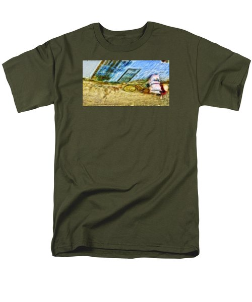 A Hard Day Men's T-Shirt  (Regular Fit) by Cameron Wood