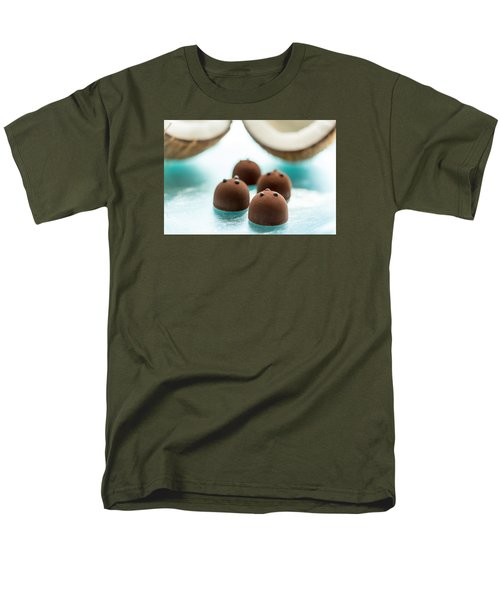 A Hint Of Coconut  Men's T-Shirt  (Regular Fit) by Sabine Edrissi