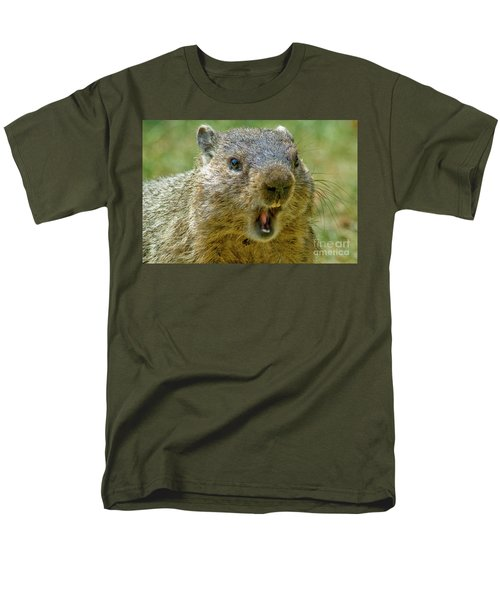 A Hungry Fellow  Men's T-Shirt  (Regular Fit) by Paul W Faust - Impressions of Light