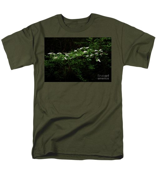 Men's T-Shirt  (Regular Fit) featuring the photograph A Light In The Darkness by Skip Willits