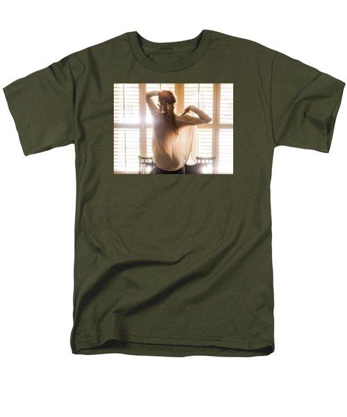 A Little Bit Country Men's T-Shirt  (Regular Fit) by Marat Essex