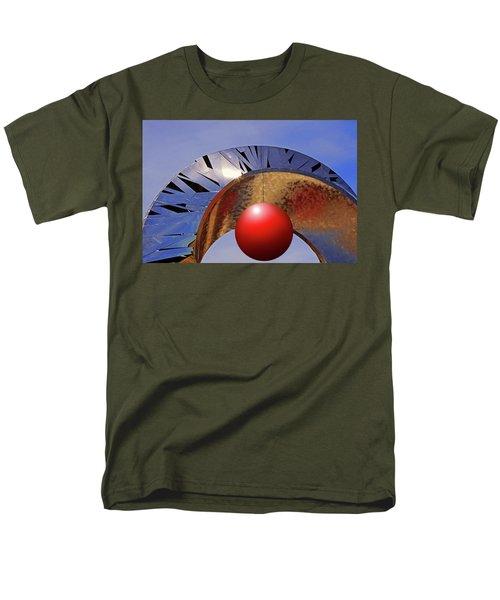 Men's T-Shirt  (Regular Fit) featuring the photograph A New Horizon by Christopher McKenzie