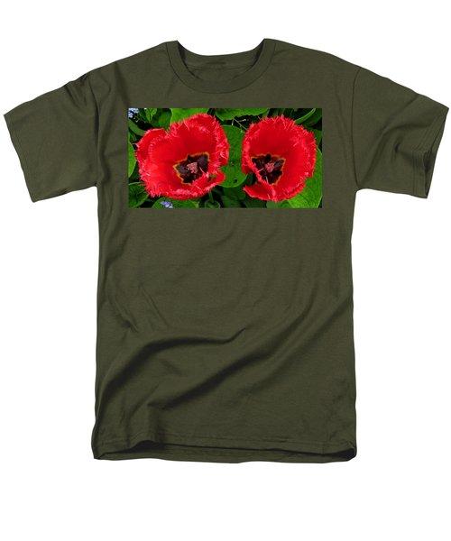 A Pair Of Poppies Men's T-Shirt  (Regular Fit) by John Topman
