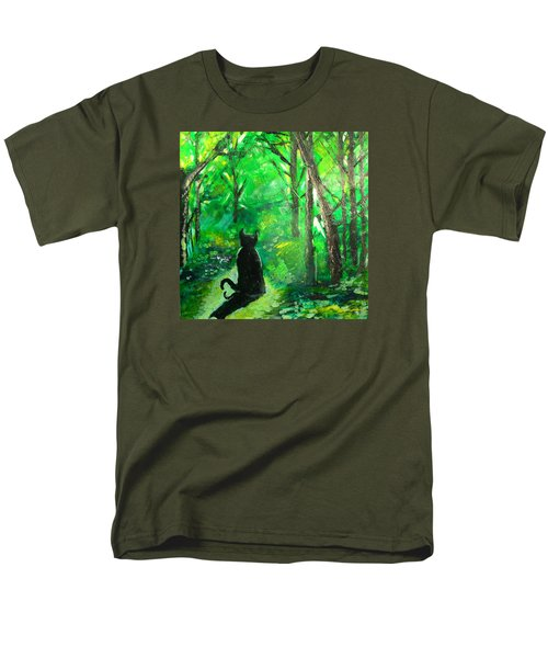 A Purrfect Day Men's T-Shirt  (Regular Fit) by Seth Weaver
