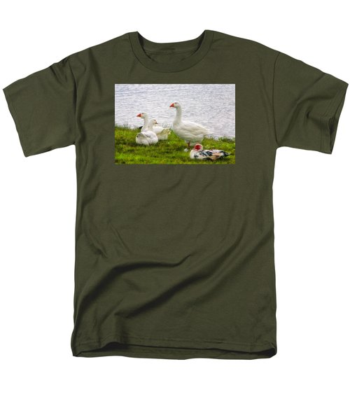Men's T-Shirt  (Regular Fit) featuring the photograph A Quiet Moment by Joan Bertucci