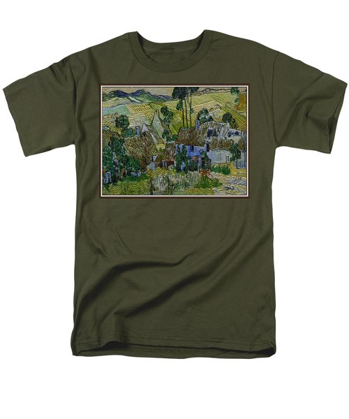 A Replica Of A Painting  Of Van Gogh Men's T-Shirt  (Regular Fit) by Pemaro