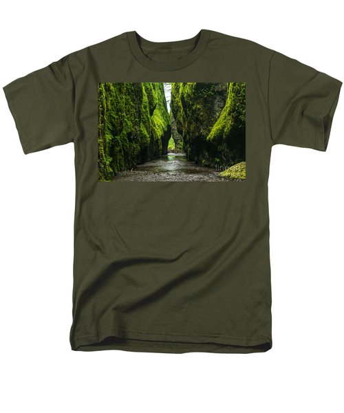 A River Runs Through It Men's T-Shirt  (Regular Fit) by Rod Jellison