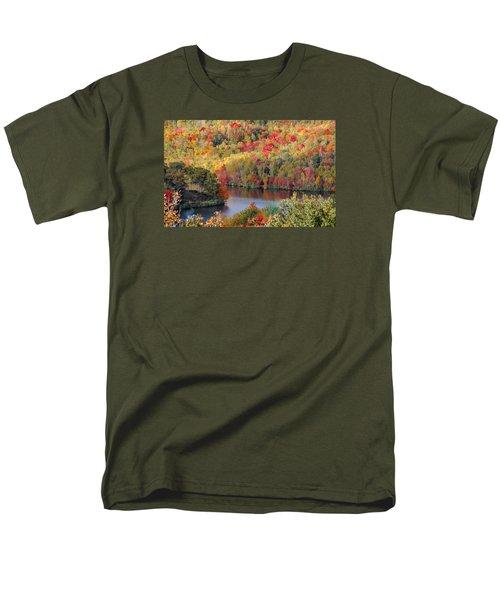 A Tennessee Autumn Men's T-Shirt  (Regular Fit) by Debbie Karnes