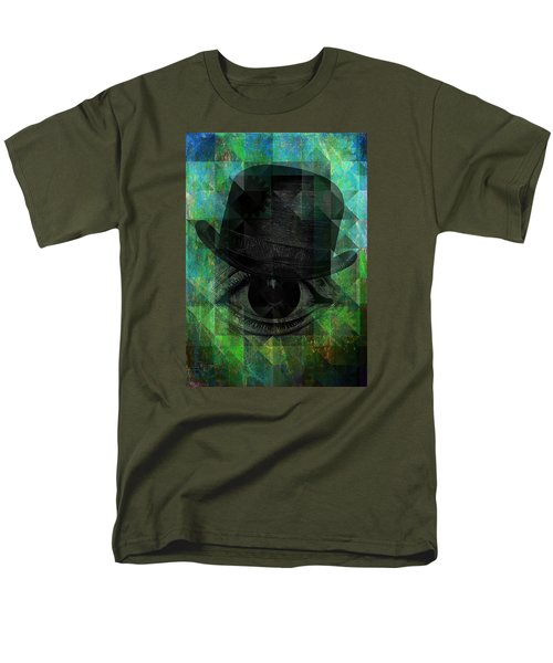 A Very Private Eye Men's T-Shirt  (Regular Fit) by Mimulux patricia no No