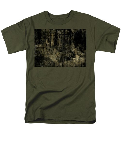 Men's T-Shirt  (Regular Fit) featuring the photograph A Walk In The Park by Jim Vance