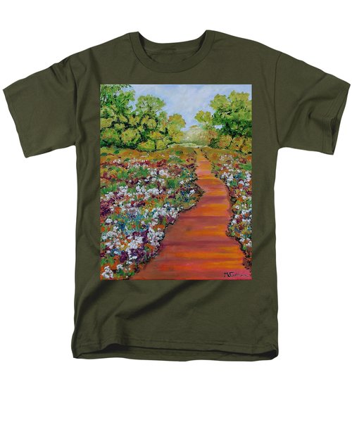 A Walk In The Park Men's T-Shirt  (Regular Fit) by Mike Caitham
