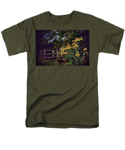 Men's T-Shirt  (Regular Fit) featuring the photograph A Walk With Wildflowers by Jessica Brawley