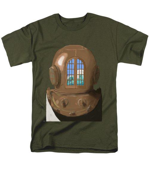 A Wave Inside The Helmet Men's T-Shirt  (Regular Fit) by Keshava Shukla