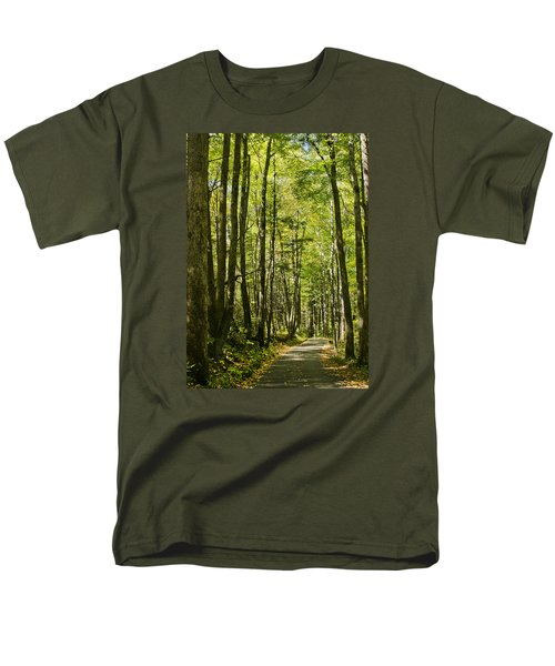 A Woodsy Trail Men's T-Shirt  (Regular Fit) by Wanda Krack