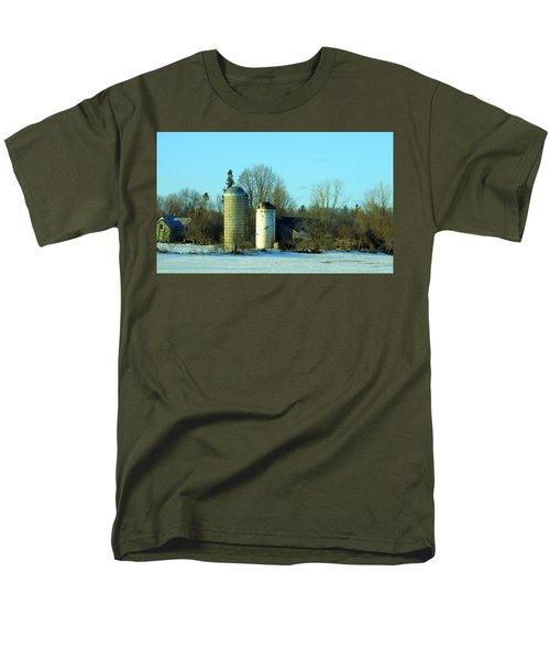 Abandoned Farm Men's T-Shirt  (Regular Fit) by Betty-Anne McDonald