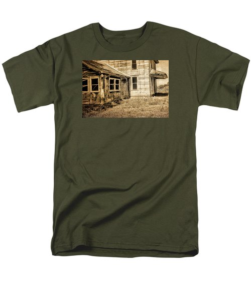 Abandoned House 2 Men's T-Shirt  (Regular Fit) by Bonnie Bruno