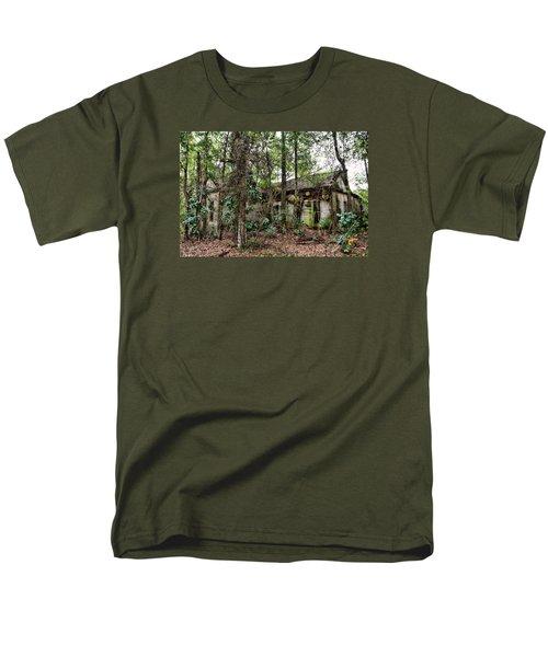 Abandoned House In Alabama Men's T-Shirt  (Regular Fit) by Lynn Jordan