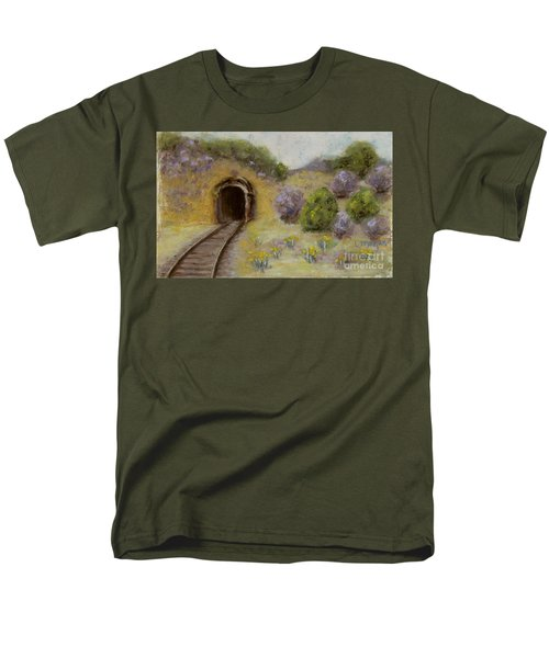 Abandoned Mine Men's T-Shirt  (Regular Fit) by Laurie Morgan