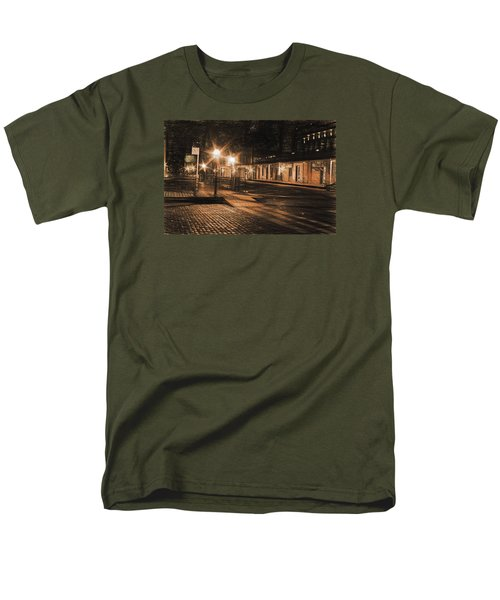 Abandoned Street Men's T-Shirt  (Regular Fit) by Michael Cleere