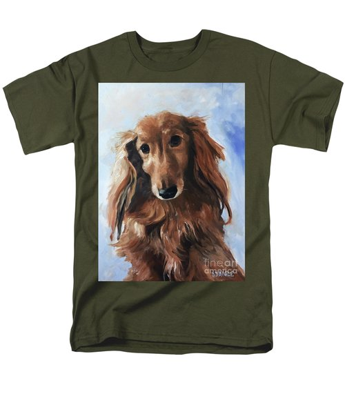 Men's T-Shirt  (Regular Fit) featuring the painting Abby by Diane Daigle