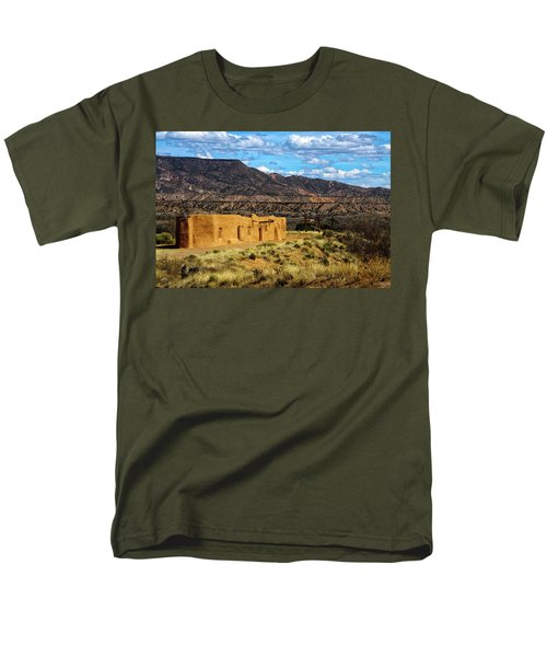 Abiquiu Church Men's T-Shirt  (Regular Fit) by Robert FERD Frank