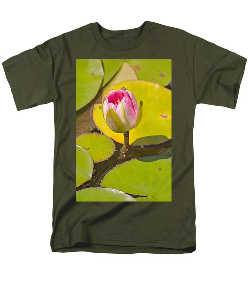 Men's T-Shirt  (Regular Fit) featuring the photograph About To Bloom by Peter J Sucy
