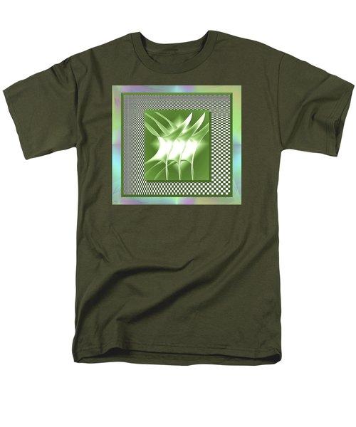 Abstract 54 Men's T-Shirt  (Regular Fit) by Iris Gelbart