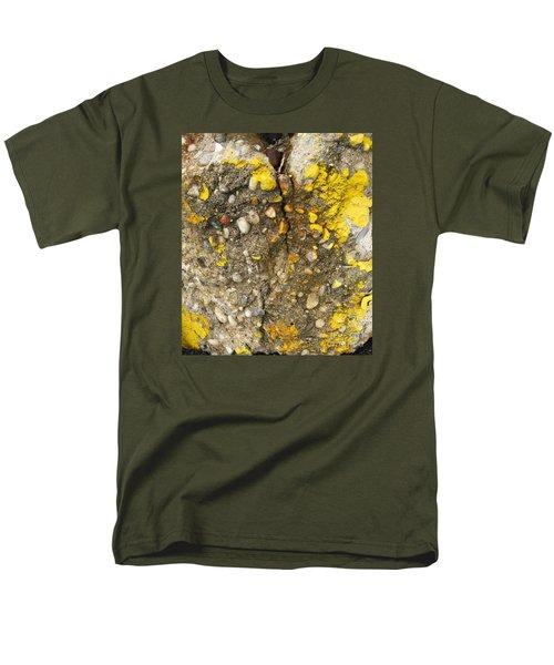 Abstract Art Seen In Parking Lot Men's T-Shirt  (Regular Fit) by Sandra Church