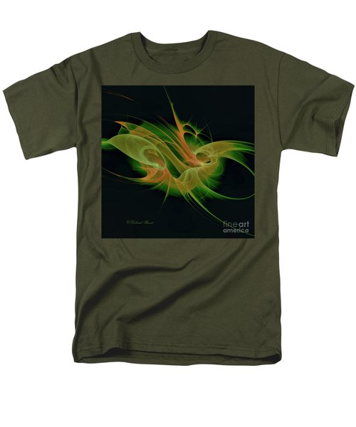 Men's T-Shirt  (Regular Fit) featuring the digital art Abstract Ffz by Deborah Benoit