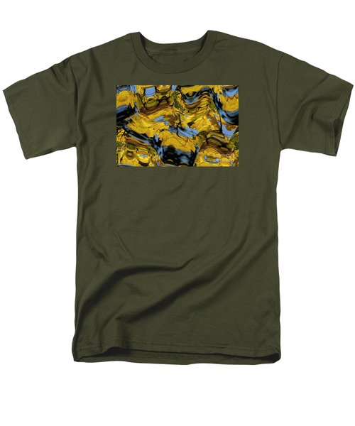 Abstract Pattern 4 Men's T-Shirt  (Regular Fit) by Jean Bernard Roussilhe