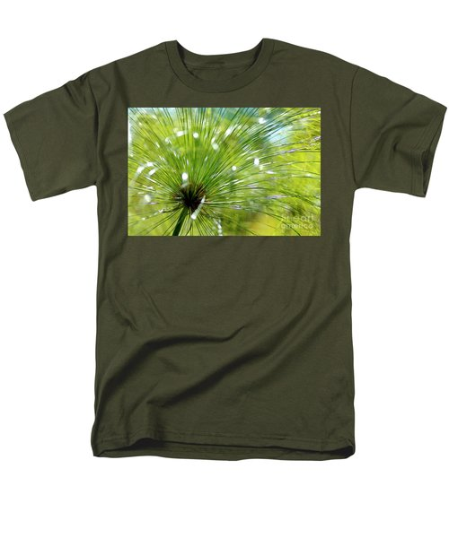 Abstrct Grass Men's T-Shirt  (Regular Fit) by Nicholas Burningham