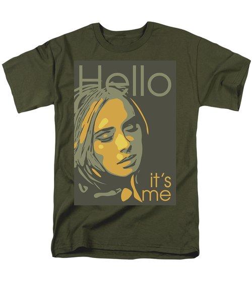 Adele Men's T-Shirt  (Regular Fit) by Greatom London
