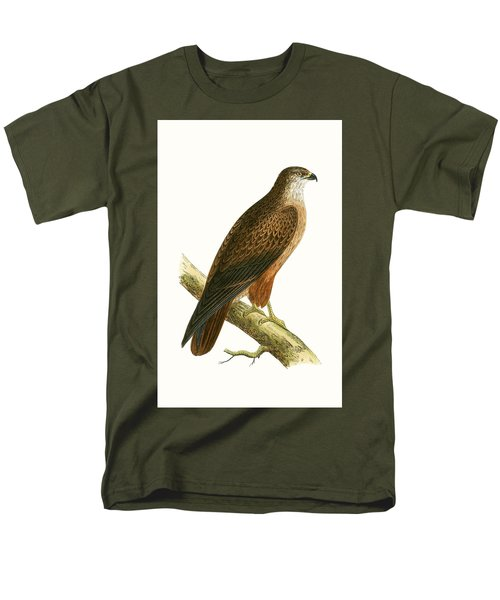 African Buzzard Men's T-Shirt  (Regular Fit) by English School