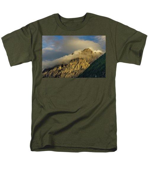 After The Rain In The Austrian Alps. Men's T-Shirt  (Regular Fit) by Ulrich Burkhalter
