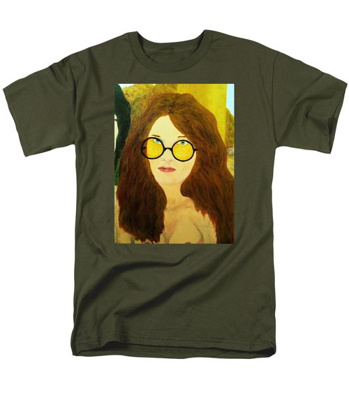 Afterlife Concerto Janis Joplin Men's T-Shirt  (Regular Fit) by Rand Swift